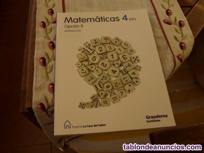 Libro 4º eso: matemáticas op. B