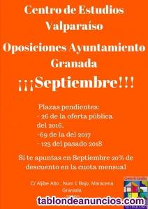 Oposiciones ayuntamiento granada