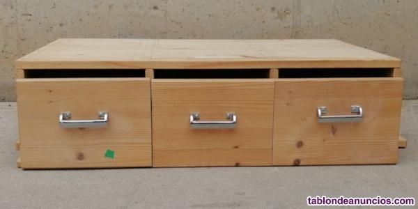 Cajones madera 85x53x25cm