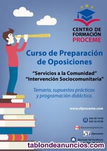 Oposiciones intervención sociocomunitaria 2020