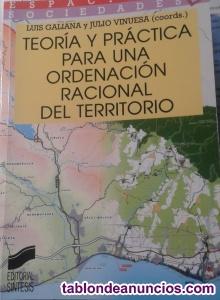 Libro ORDENACIÓN DEL TERRITORIO