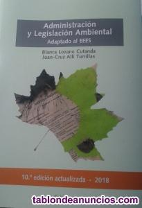 Libro ADMINISTRACIÓN Y LEGISLACIÓN AMBIENTAL
