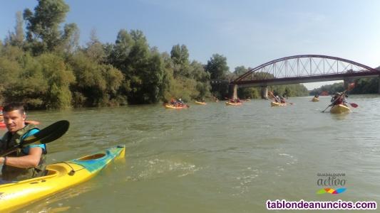 Kayak en cordoba