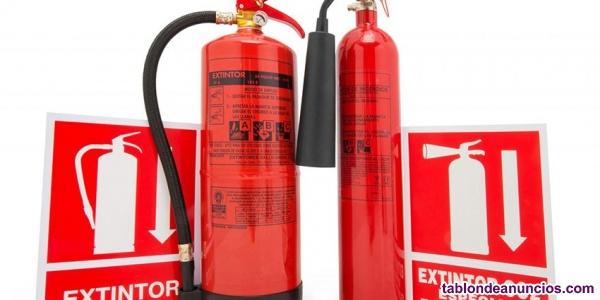 Profesionales de seguridad y contra incendios