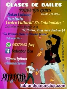 CLASES DE SALSA CUBANA,BACHATA
