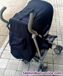 SILLA PASEO RECLINABLE ESPALDA, CON PARASOL Y CIERRE FORMATO PARAGUAS
