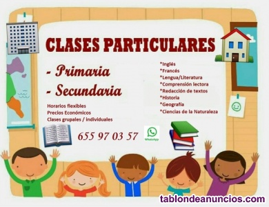 Clases Particulares San José de la Rinconada