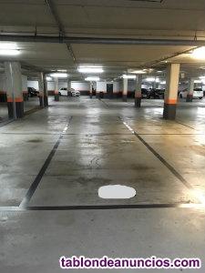 Venta plaza de garaje amplia al lado de la audiencia