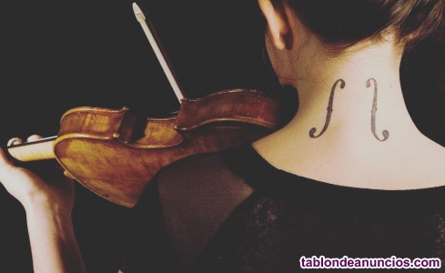 Clases particulares violin y lenguaje musical