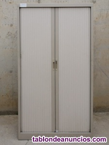 Armario metálico persiana 120x47x180cm