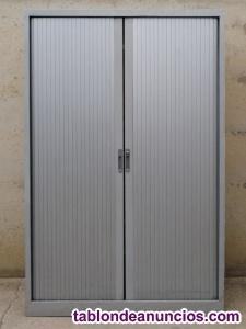 Armario metálico persiana 120x47x197cm