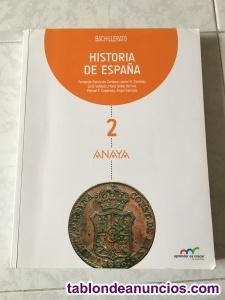 Libro de historia de españa 2 bach