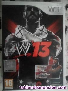 Vendo Juego de Consola Wii WWE 13 | Edición Especial (nuevo)