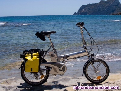 Bicicleta plegable asistida