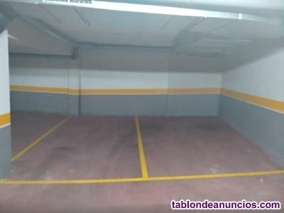 Plazas de garaje amplias