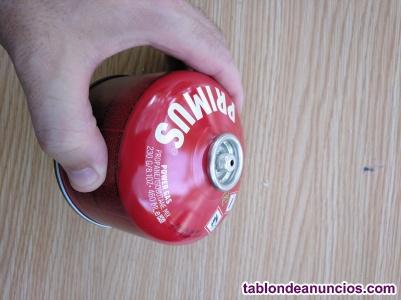 Botella de camping gas
