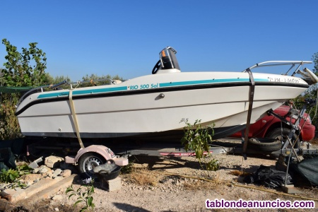 Barco rio sol 500