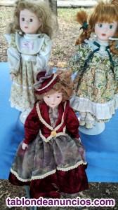 Muñecas porcelana vintage