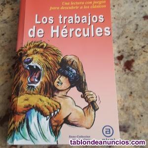 """Libro lectura escolar """"los trabajos de hercules"""""""