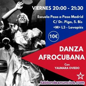 Profesora de Danzas Afrocubanas. Bailes de Salón