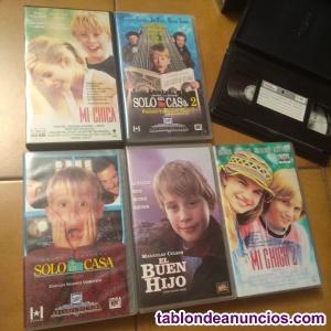 Cintas VHS peliculas infantiles