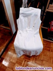 Vestido blanco amy gee