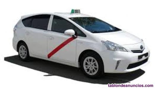 Se necesita conductor de taxi para madrid