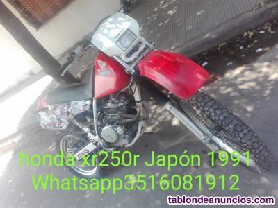 Honda XR 250  Japón