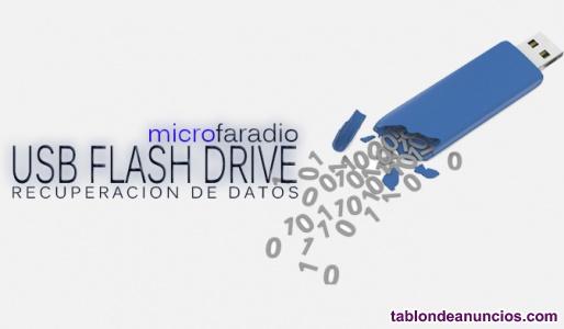 Usb flash drive recuperacion de datos
