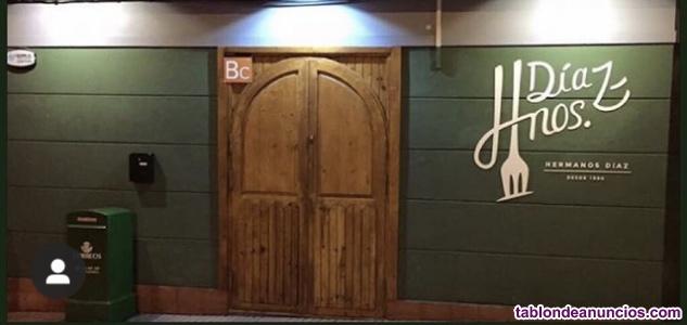 Se traspasa Restaurante Hermanos Díaz