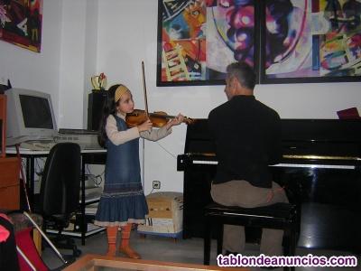 Clases particulares de violín y viola