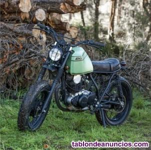 Yamaha SR250 caferacer Ad•hoc23