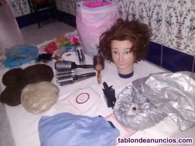 Vendo accesorios de peluquería