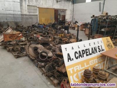 Repuestos usados para maquinaria pesada