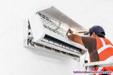 Instalación y reparación de aire acondicionado