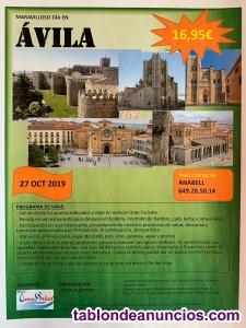 Excursión  Ávila