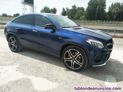 Mercedes Benz AMG GLE43 Coupe 2018