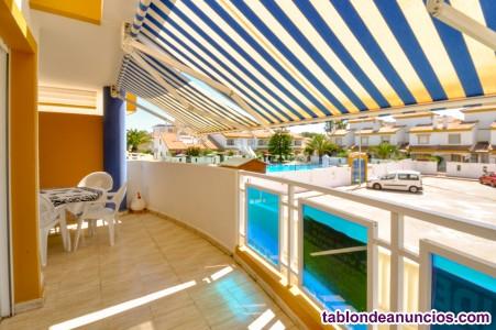 Apartamento en Playa OLiva, junto Golf el Hípica, a 100 mts playa