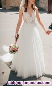 Vendo vestido de novia Dalgo de Pronovias