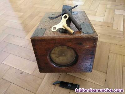 Antiguo reloj benzing controlador tiempo palomas mensajeras años 20 colombofilia