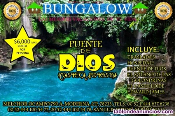 Visita *La Huasteca Potosina* México 400