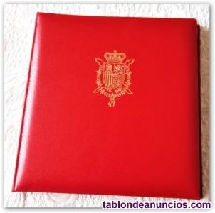 Colección de sellos españoles.