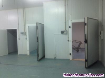 SALDOS por CIERRE; Cámaras,salas,obradores,secaderos,túnel congelado,panel sándw