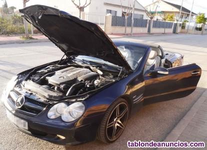 Mercedes benz sl 500. Exhaust sound amg.