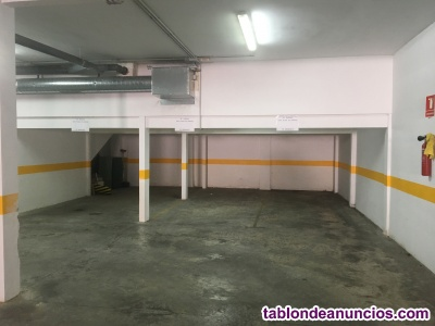 Alquiler amplia plaza de garaje en Nervion
