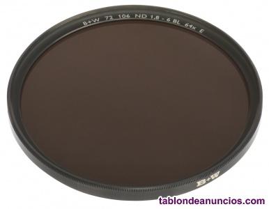 Filtro B+W F-Pro 106 ND 1.8 E, de 72 mm