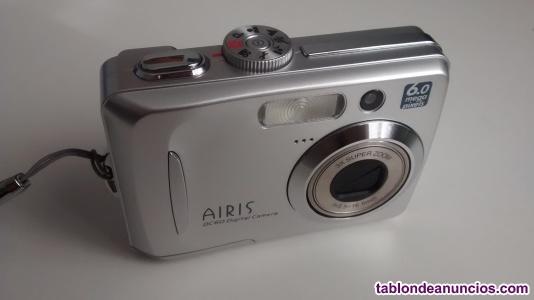 Cámara digital fotos airis