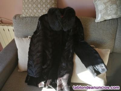 Abrigo de piel abrigo en perfecto estado.