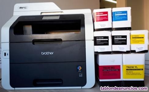 Impresora láser color Brother MFC-9340CDW + recambios