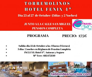 Hotel fenix 4* torremolinos